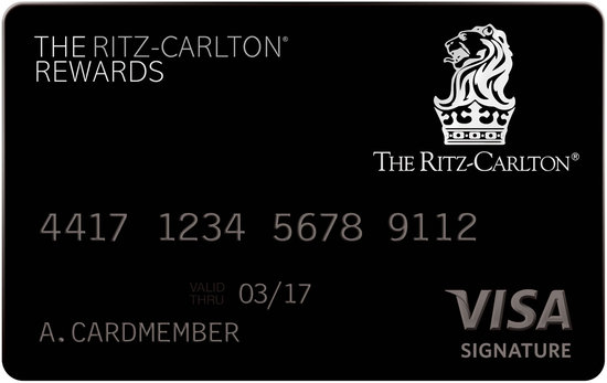 Ritz-Carlton Releases first branded credit card