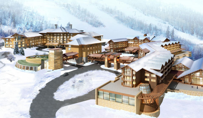 A First For Starwood Hotels Amp Resorts Ski Resort In China Luxgetaway