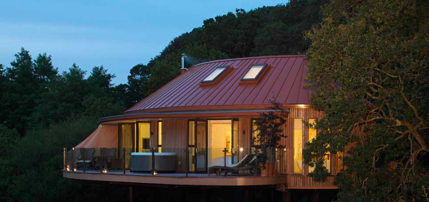 Chewton Glen's New Treetop Accommodations