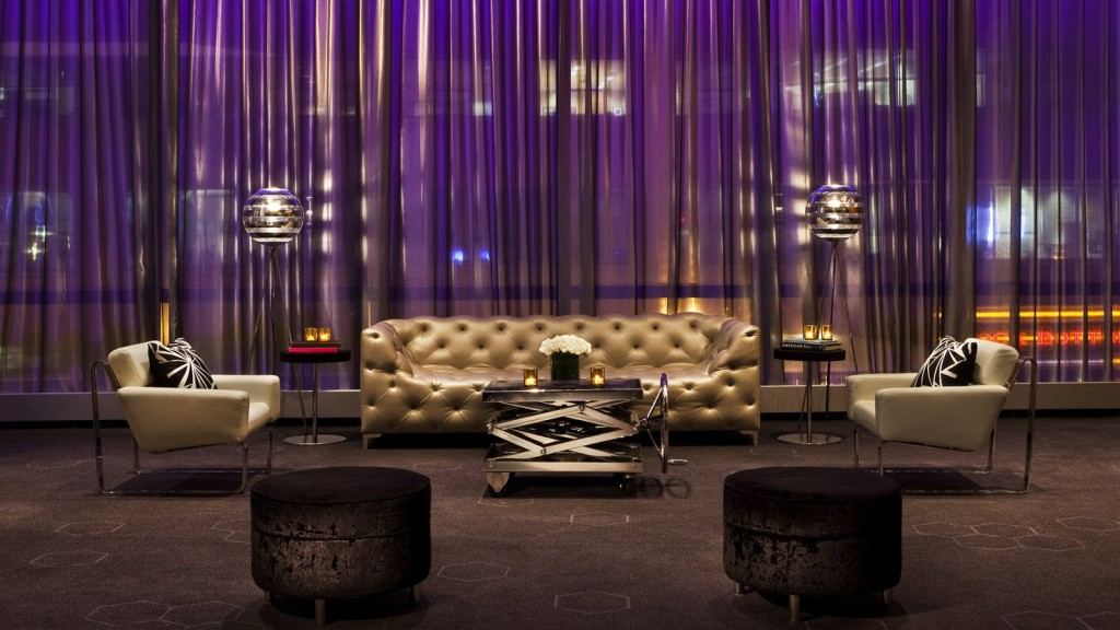 W Hotels Lobby Boston Feature