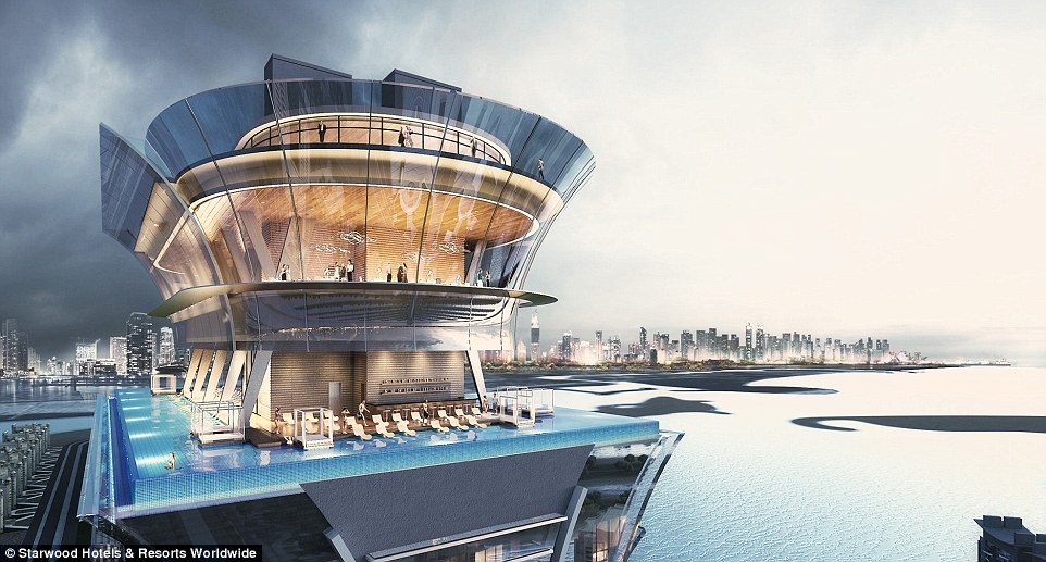 New St. Regis Dubai Hotel to Have 360 Degree Infinity Pool in the Sky