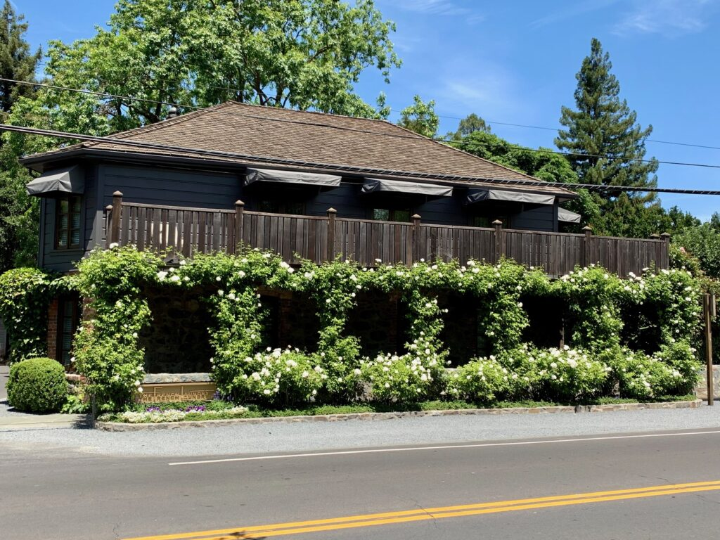 The French Laundry Napa Valley Street View Exterior